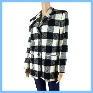 The Limited Women's Size M Black White Checkered